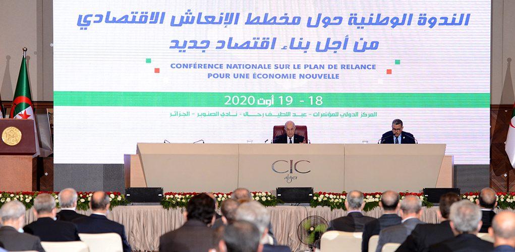Algérie-Tebboune-Economie-Plan de relance- Hydrocarbures-