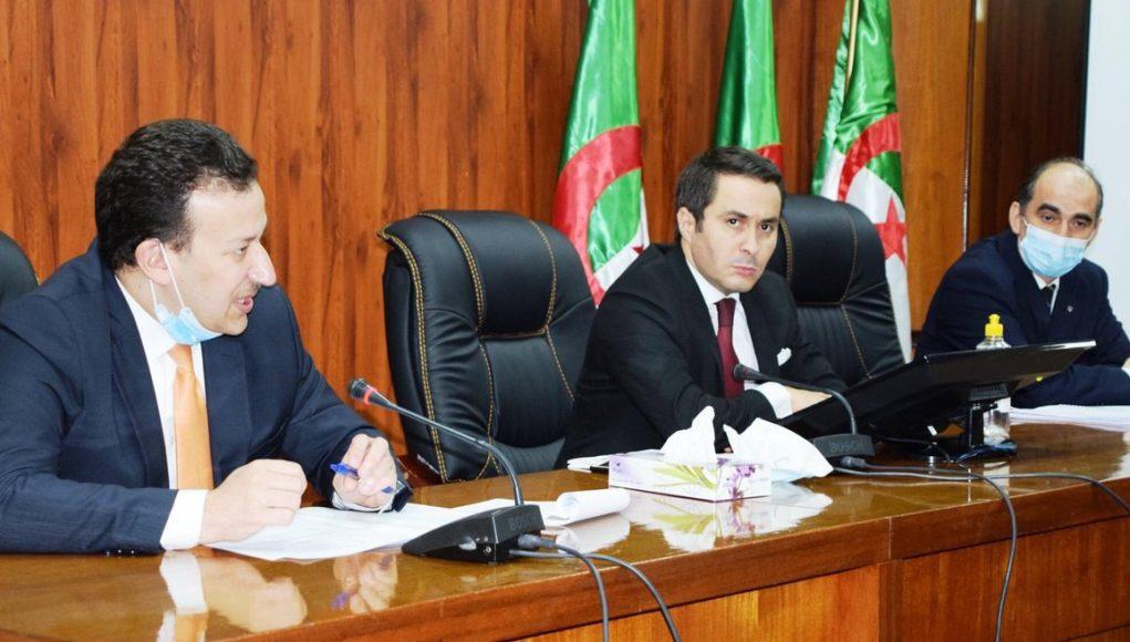 Sid Ali Khaldi Ministre de la Jeunesse et des Sports