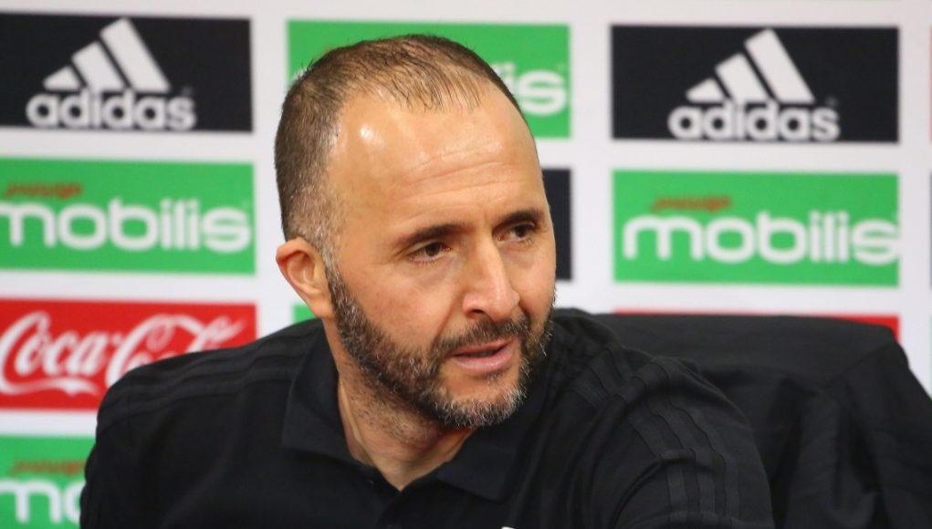 Djamel Belmadi Algérie Football Fennecs