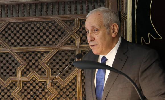 Son Excellence l'ambassadeur d'Algérie à Paris Mohamed-Antar-Daoud