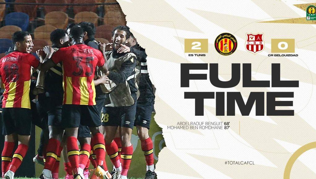 L'Espérance de Tunis élimine le CR Belouizdad aux tirs au but en quart de finale de la Ligue des Champions