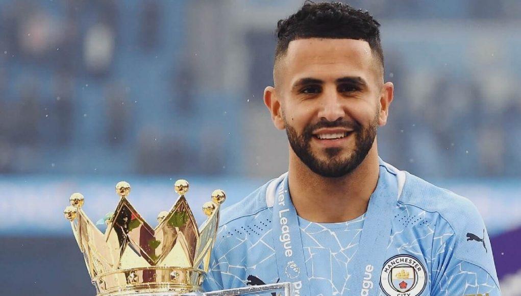 Riyad Mahrez Champion MAnchester City Premier League