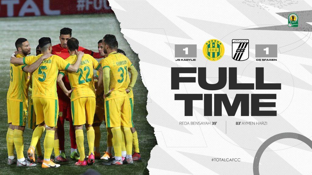 JSK CS Sfaxien Coupe de la Confédération Demi Finale