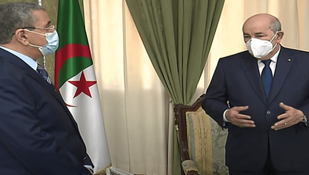 Abdelaziz Djerad remet sa démissionne à Abdelmadjid Tebboune