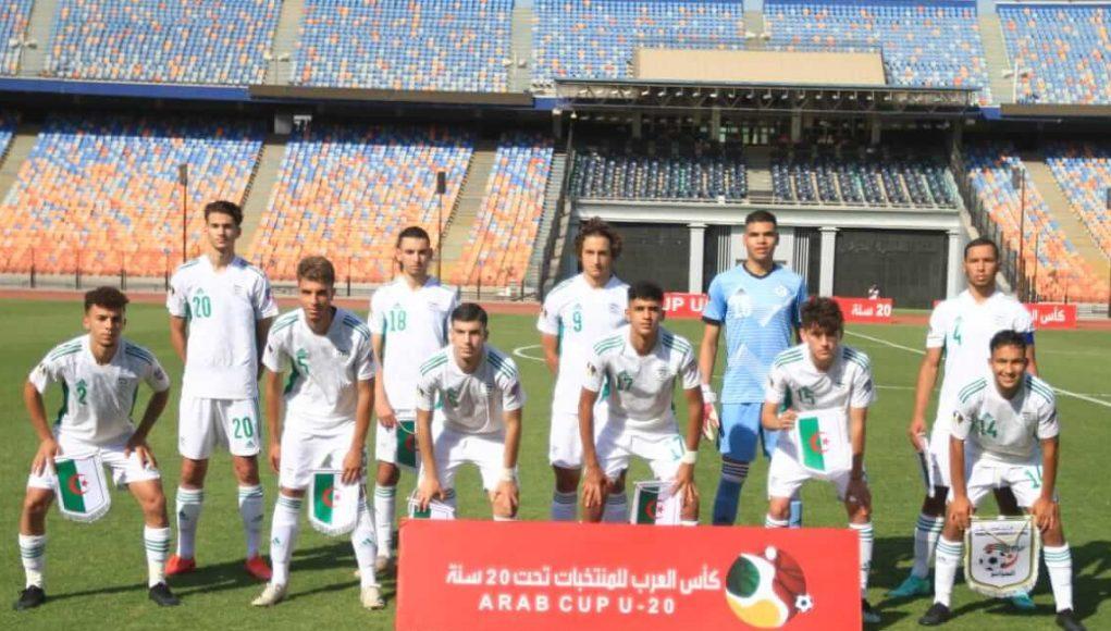 L'équipe algérienne U20 affronte son homologue marocaine en quart de finale de la Coupe Arabe