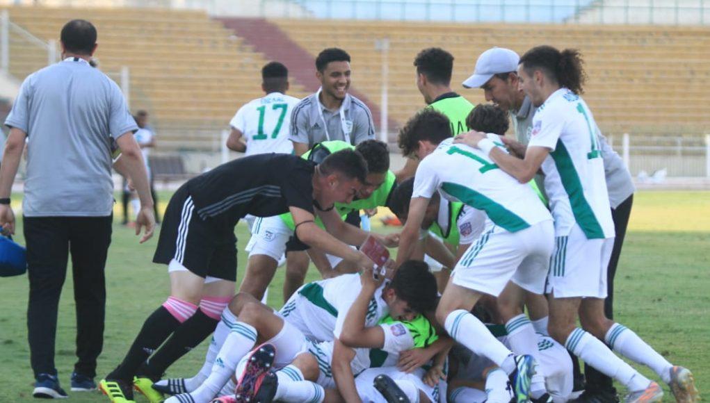 La sélection algérienne U20 se qualifie pour les quarts de finale de la Coupe Arabe des nations