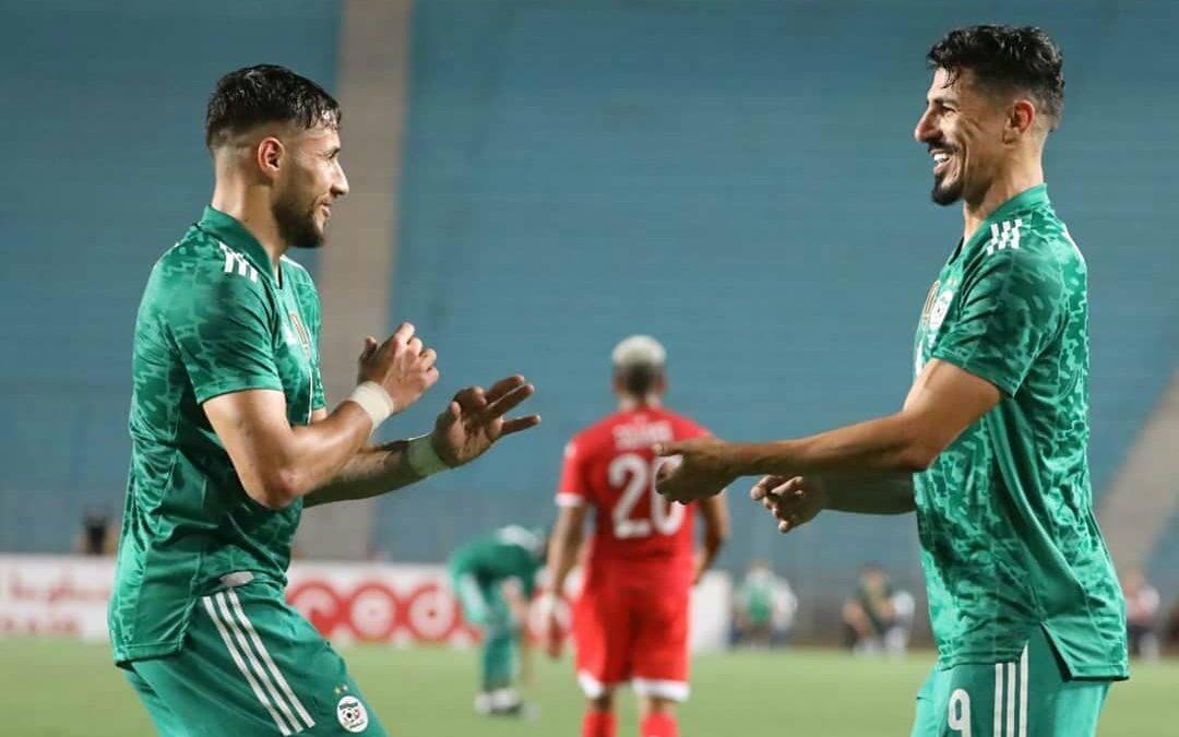L'Algérie bat la Tunisie en amical et établit un nouveau record d'invincibilité en Afrique. Bounedjah Belaili