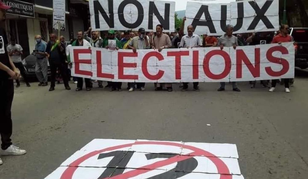 Elections algérie 12 juin