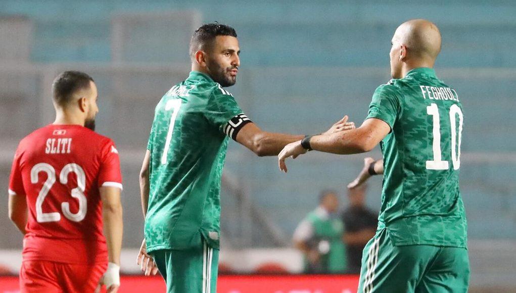 L'équipe d'Algérie a battu la Tunisie à Radès et établit le record d'invincibilité en Afrique avec 27 matchs sans défaite. Mahrez et Feghouli