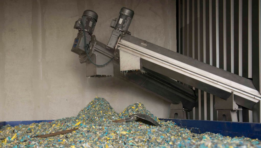 une usine en Algérie de recyclage des déchets ménagers et assimilés
