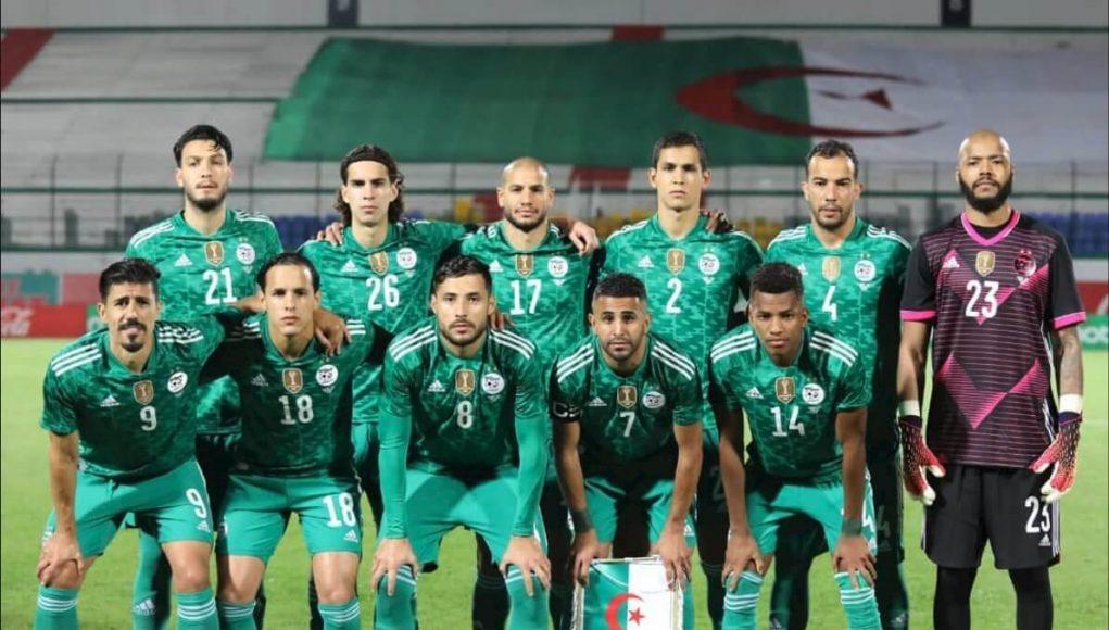 Algérie Football Fennecs Belmadi Mahrez