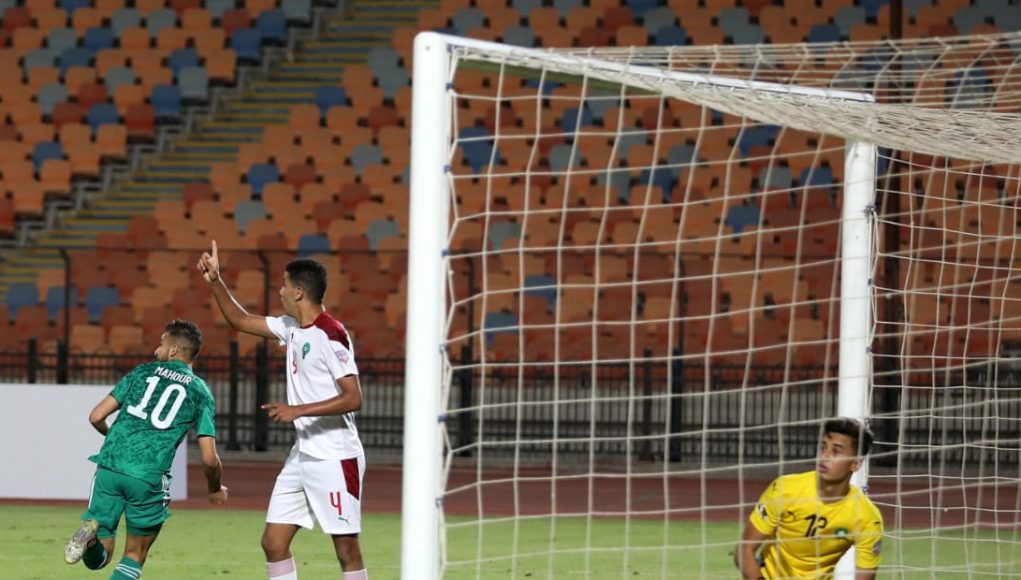 L'Algérie U20 élimine le Maroc en quart de finale de la Coupe arabe des nations