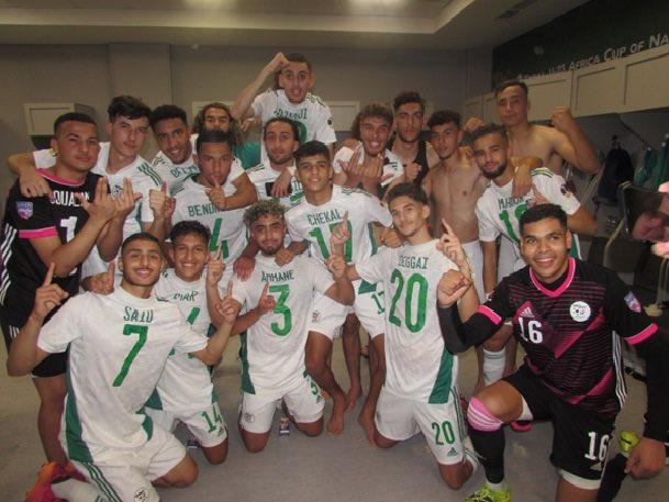 La sélection algérienne de football U20 affronte en finale l'Arabie Saoudite