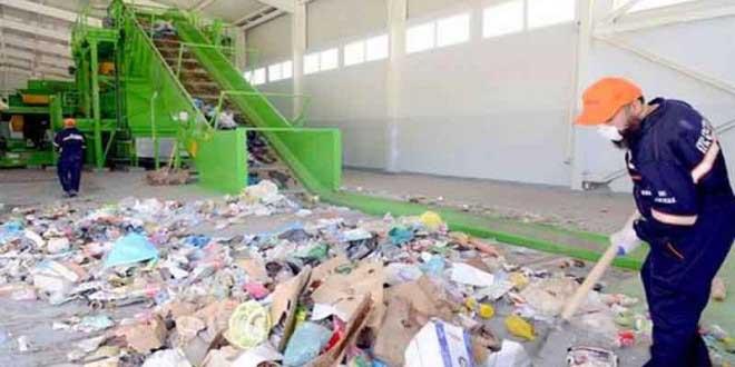 usine algérienne de recyclage de déchets ménagers et assimilés