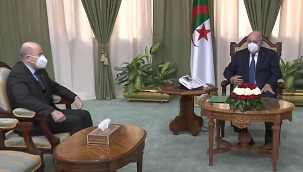 Tebboune reçoit le nouveau Premier ministre de l'Algérie Aïmen Benabderrahmane