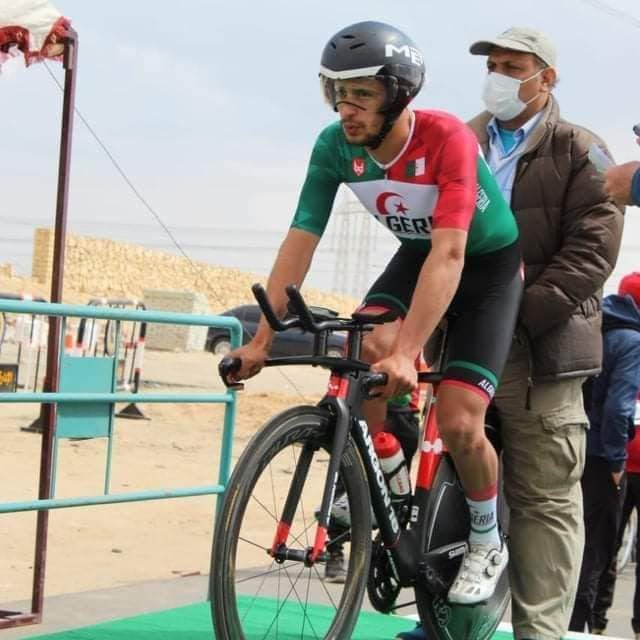 Le cycliste Hamza Mansouri qualifié pour les JO