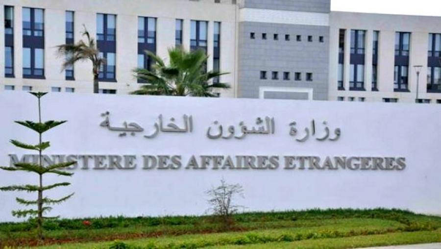 siège du ministère des Affaires étrangères algérien
