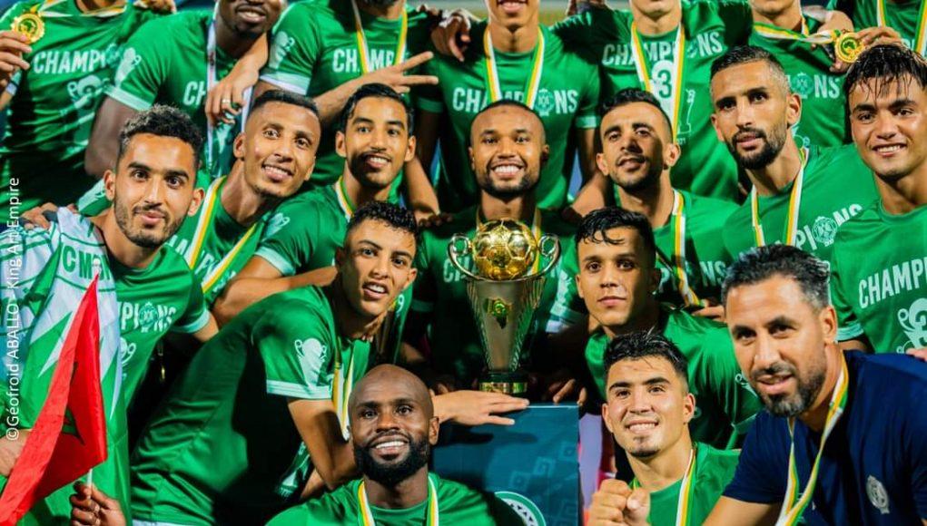 le Raja de Cassablanca remporte la finale de la Coupe de la Confédération face à la JSK