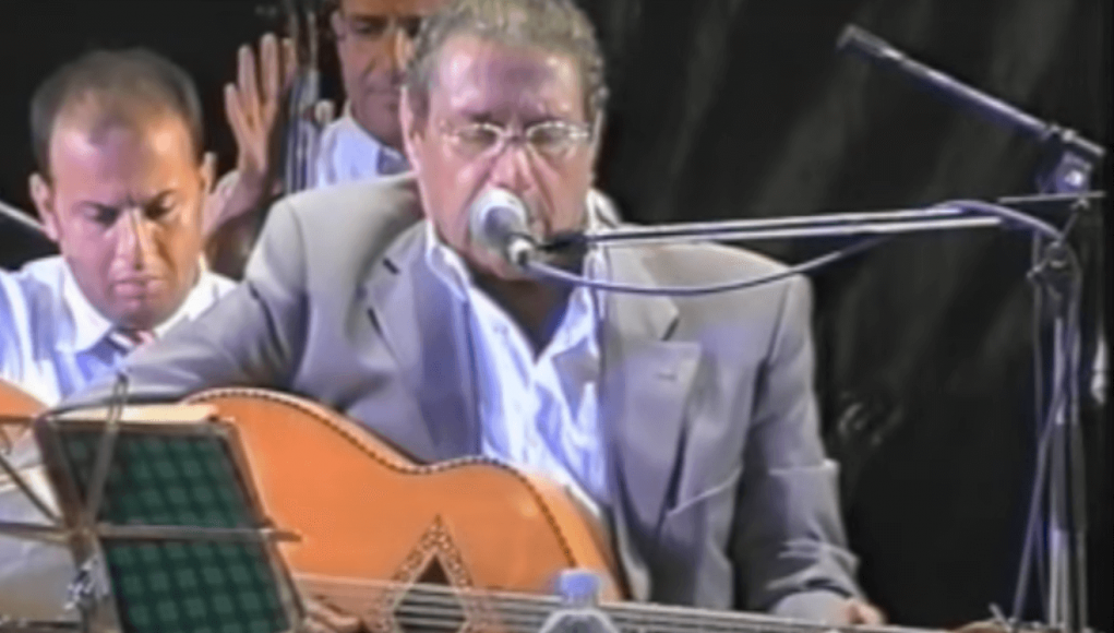 El Hachemi Guerouabi en concert