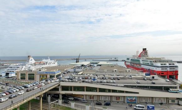Port d'Alger activités économiques