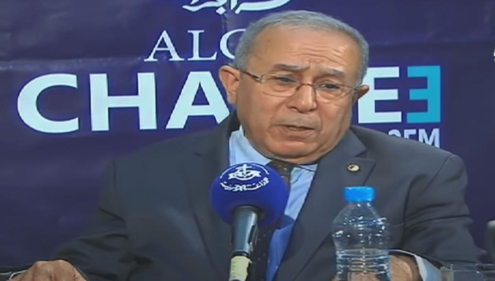 ramtane Lamamra. nouveau ministre des affaires étrangères de l'Algérie