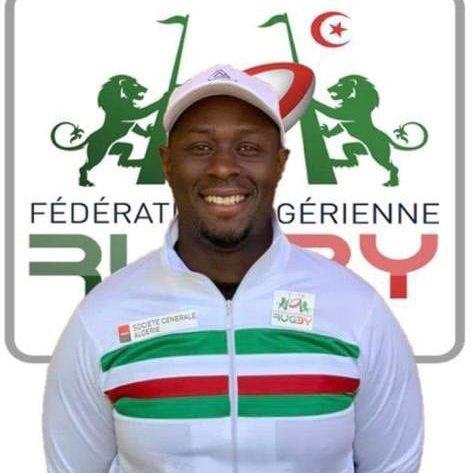 """Ousmane Mané nouveau sélectionneur de l""""équipe de rugby de l'Algérie"""