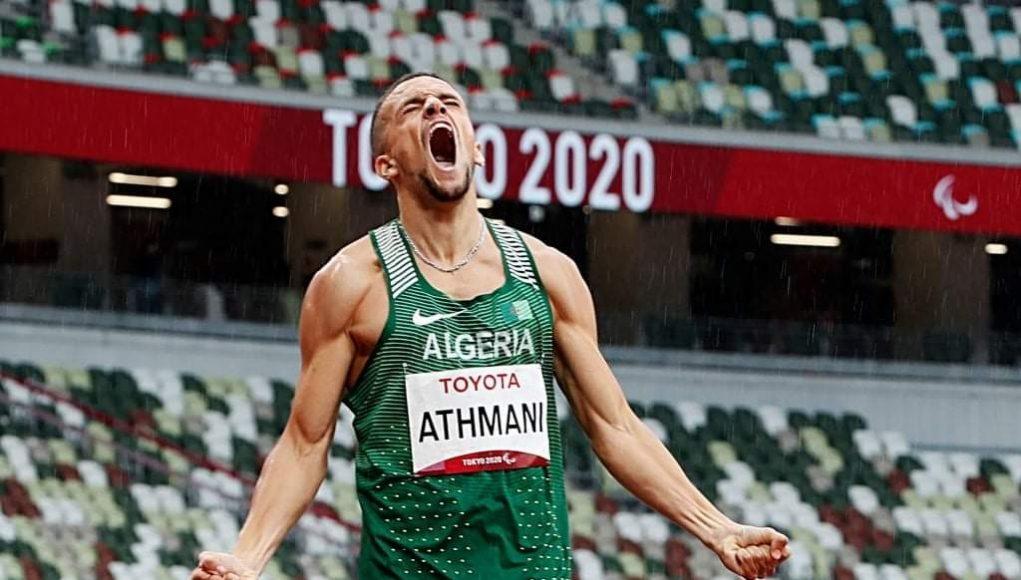 Athmani Skander exprime sa joie