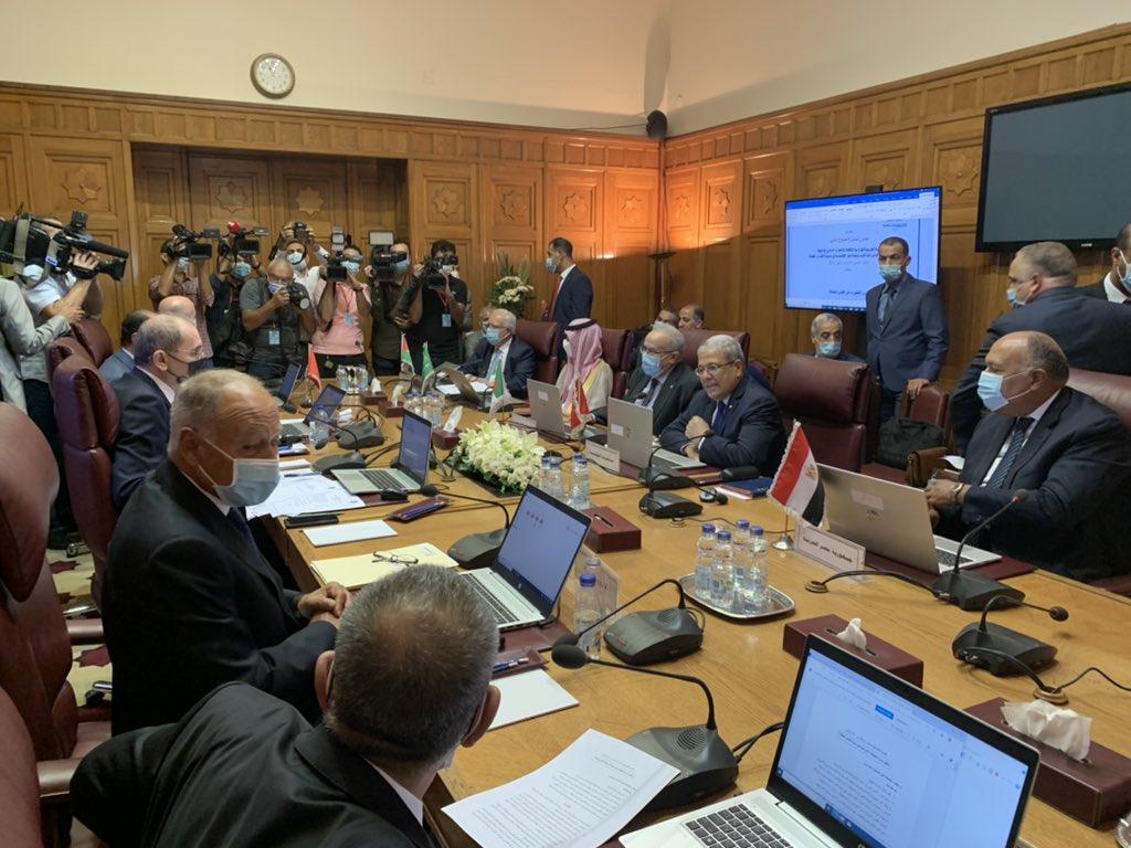 rencontre des ministres des Affaires étrangères de la Ligue arabe