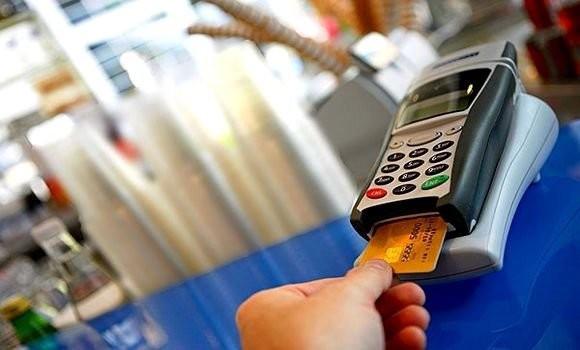 Terminal de paiement de carte bancaire