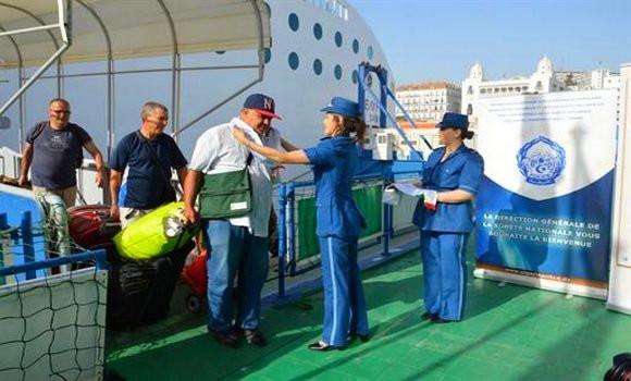 Immigré algérien rentrant au pays